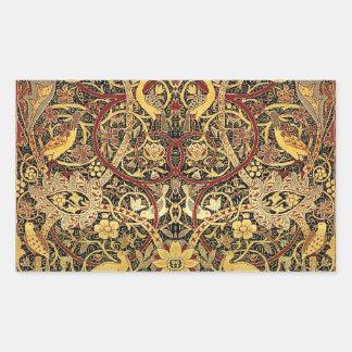 William Morris Bullerswood Tapestry Floral Art Sticker