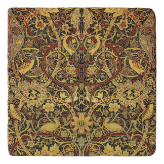 William Morris Bullerswood Tapestry Floral Art Trivet