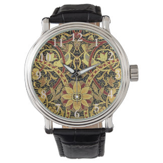 William Morris Bullerswood Tapestry Floral Art Watch