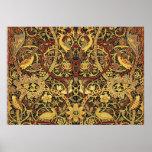William Morris Bullerswood Tapestry Floral Poster
