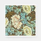 William Morris - Chrysanthemum Pastels Paper Napkin