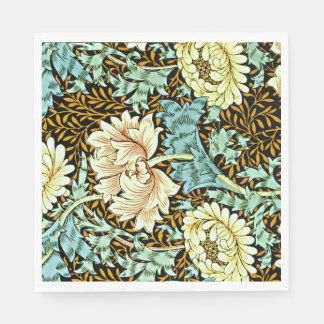 William Morris - Chrysanthemum Pastels Paper Napkin