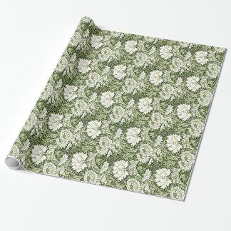 William Morris - Chrysanthemum pattern Wrapping Paper