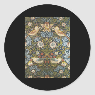 William Morris Classic Round Sticker