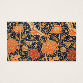 William Morris Cray Floral Art Nouveau Pattern Business Card