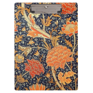 William Morris Cray Floral Art Nouveau Pattern Clipboards