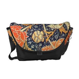 William Morris Cray Floral Art Nouveau Pattern Commuter Bag