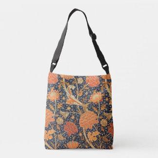 William Morris Cray Floral Art Nouveau Pattern Crossbody Bag