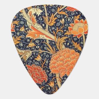 William Morris Cray Floral Art Nouveau Pattern Guitar Pick