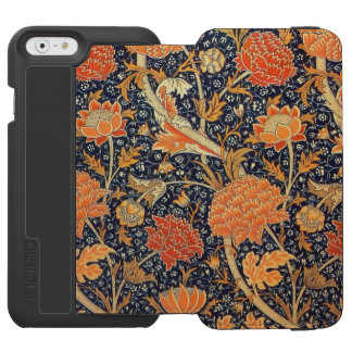 William Morris Cray Floral Art Nouveau Pattern Incipio Watson™ iPhone 6 Wallet Case