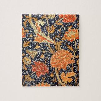 William Morris Cray Floral Art Nouveau Pattern Jigsaw Puzzle