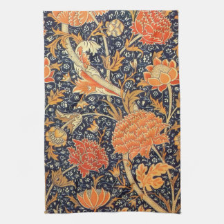 William Morris Cray Floral Art Nouveau Pattern Kitchen Towel