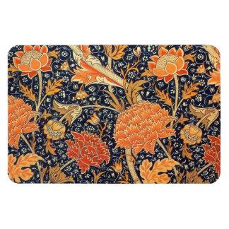 William Morris Cray Floral Art Nouveau Pattern Rectangular Photo Magnet