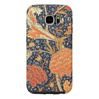 William Morris Cray Floral Art Nouveau Pattern Samsung Galaxy S6 Cases