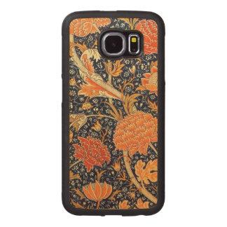William Morris Cray Floral Art Nouveau Pattern Wood Phone Case