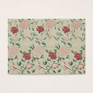 William Morris Cray Floral Pre-Raphaelite Vintage Business Card