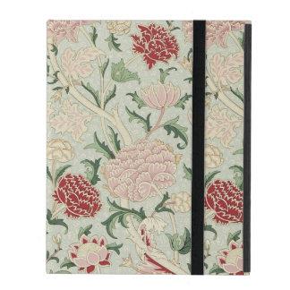 William Morris Cray Floral Pre-Raphaelite Vintage iPad Folio Case