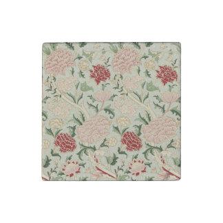 William Morris Cray Floral Pre-Raphaelite Vintage Stone Magnets