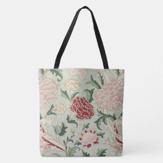 William Morris Cray Floral Pre-Raphaelite Vintage Tote Bag