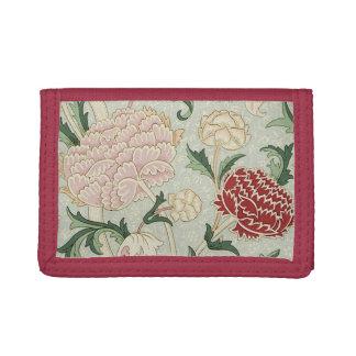 William Morris Cray Floral Pre-Raphaelite Vintage Trifold Wallets