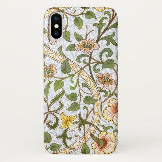 William Morris Daffodil Pattern iPhone X Case