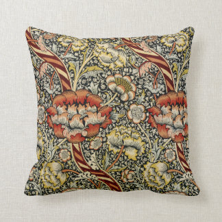 William Morris Design #9 Throw Pillow