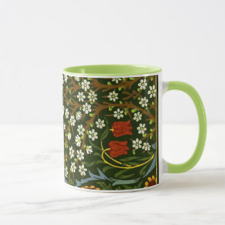 William Morris Design, Blackthorn design Mug
