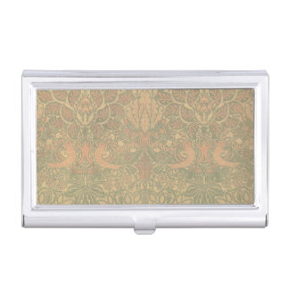 William Morris Dove and Rose Pattern Case For Business Cards