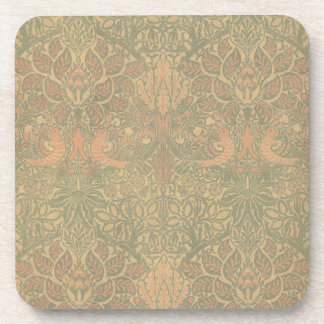 William Morris Dove and Rose Pattern Coaster