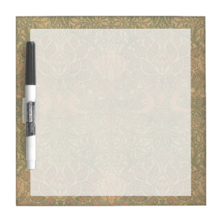 William Morris Dove and Rose Pattern Dry Erase Boards