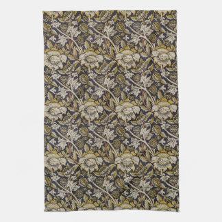 William Morris Fine Floral Wallpaper Pattern Kitchen Towel