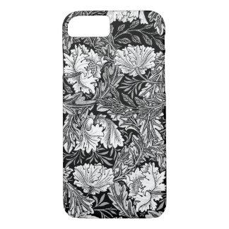 William Morris Floral, Black, White & Gray / Grey iPhone 8/7 Case
