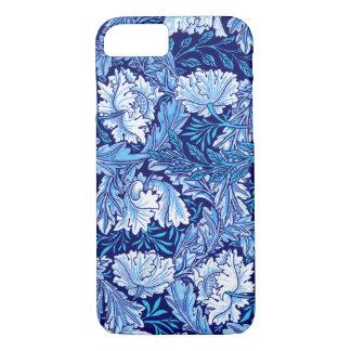 William Morris Floral, Cobalt Blue and White iPhone 8/7 Case