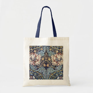 William Morris Floral Design Tote Bag