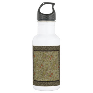 William Morris Floral lily willow art print design 532 Ml Water Bottle