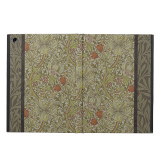 William Morris Floral lily willow art print design iPad Air Case