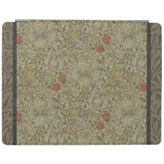 William Morris Floral lily willow art print design iPad Cover