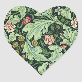 William Morris Floral Pattern Stickers