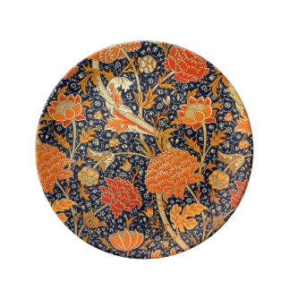 William Morris Floral Porcelain Plate