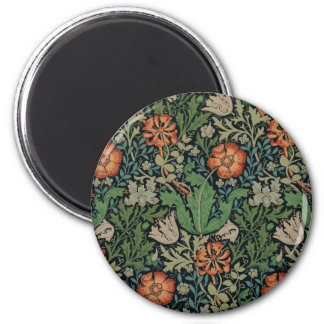 William Morris Floral Wallpaper Magnet