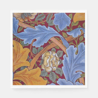 William Morris Floral Wallpaper Pattern Disposable Napkin
