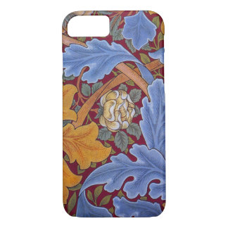 William Morris Floral Wallpaper Pattern iPhone 8/7 Case