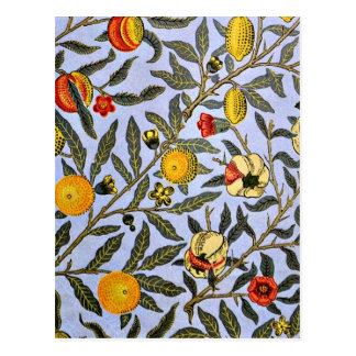 William Morris - Fruit Postcard