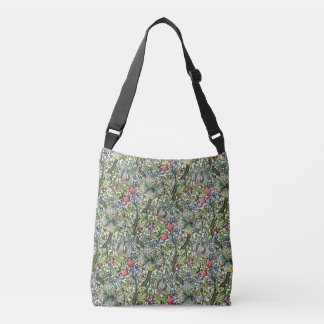 William Morris Golden Lily Chintz Pattern Crossbody Bag