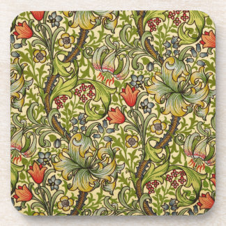 William Morris Golden Lily Drink Coaster