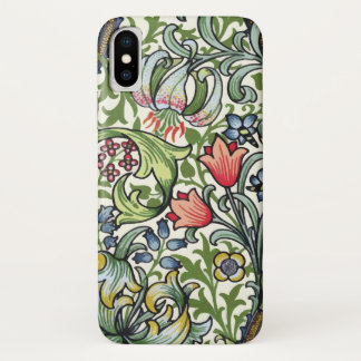 William Morris Golden Lily Floral Chintz Pattern Case-Mate iPhone Case