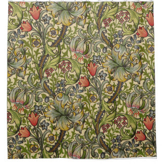 William Morris Golden Lily Shower Curtain