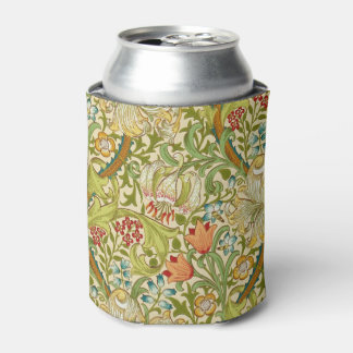 William Morris Golden Lily Vintage Pre-Raphaelite Can Cooler
