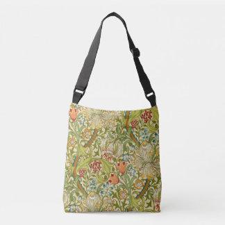 William Morris Golden Lily Vintage Pre-Raphaelite Crossbody Bag