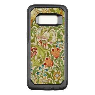 William Morris Golden Lily Vintage Pre-Raphaelite OtterBox Commuter Samsung Galaxy S8 Case